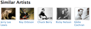 elvis similar artists Last.fm Trends: Presley Scores Spotlight In Nashville