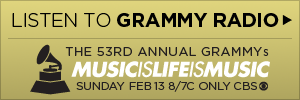 grammy button Last.fm Trends: Rock Voices Bring The Noise At The Grammys